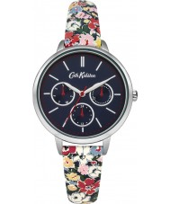 Cath Kidston CKL003US Ladies Mew Ditsy Flower Printed PU Leather Strap Watch