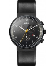 Braun BN0035BKBKG Mens Chronograph All Black Watch