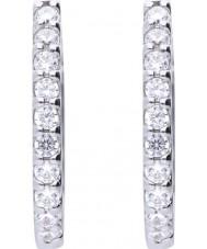 Diamonfire E5609 Ladies Memory Earrings