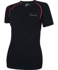 Dare2b Ladies Mollify Black T-Shirt