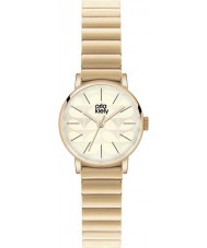 Orla Kiely OK4010 Ladies Frankie Gold Plated Bracelet Watch