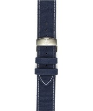 Elliot Brown STR-C01 Mens Canford-Bloxworth Washed Blue Canvas Strap