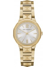 Karl Lagerfeld KL3403 Ladies Joleigh Silver Gold Watch