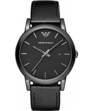 Emporio Armani AR1732 Mens Classic Black Leather Strap Watch