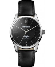 Barbour BB049SLBK Mortimer Black Leather Strap Watch
