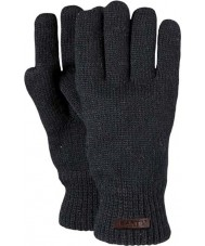 Barts Mens Haakon Black Gloves