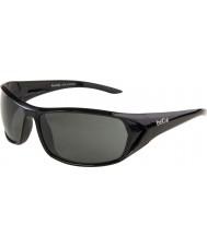 Bolle Blacktail Shiny Black Polarized TNS Sunglasses