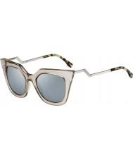 Fendi Iridia FF 0060-S MSQ 3U Crystal Sunglasses