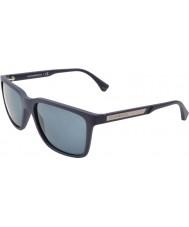 Emporio Armani EA4047 56 Modern Blue Rubber 506587 Sunglasses