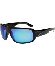 Cebe Maori Shiny Black Blue Sunglasses