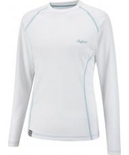Surfanic SW122600-012-XL Ladies Crew White Baselayer - Size XL