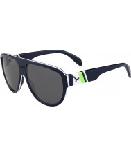 Cebe Miami Dark Blue Green 1500 Grey Flash Mirror Sunglasses