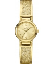 Caravelle New York 44L164 Ladies Glitz Gold Steel Bracelet Watch