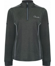 Dare2b Ladies Entirety Core Grey Marl Stretch Midlayer