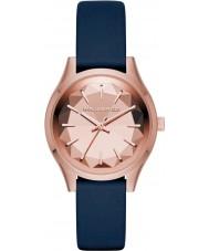 Karl Lagerfeld KL1632 Ladies Belleville Blue Leather Strap Watch