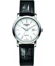 Roamer 709844-41-25-07 Mens Classic Line Black Leather Strap Watch