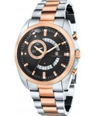 Klaus Kobec KK-20009-44 Mens Porter Two Tone Rose Gold Plated Watch