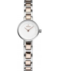 Obaku V198LXCISC Ladies Two Tone Steel Bracelet Watch