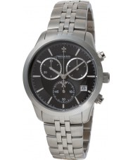 Dreyfuss and Co DGB00062-04 Mens 1953 Silver Chronograph Watch