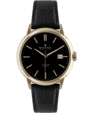 Dreyfuss and Co DGS00077-04 Mens 1925 Rose Gold Black Automatic Watch