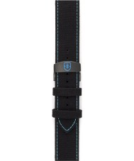 Elliot Brown STR-C02 Mens Canford-Bloxworth Black Canvas Strap