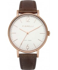 Fiorelli FO005TRG Ladies Rose Gold Plated Brown Leather Strap Watch