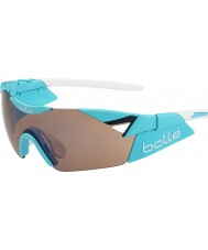 Bolle 6th Sense S Shiny Blue Modulator Rose Gun Sunglasses