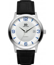 Danish Design Q22Q1083 Mens Black Leather Strap Automatic Watch