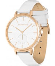 Halcyon Days HD2010 Ladies Maya Sports White Leather Strap Watch