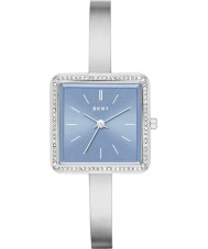 DKNY NY2557 Ladies Stonewall Silver Steel Bracelet Watch