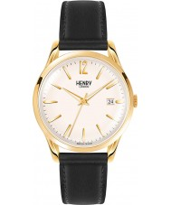 Henry London HL39-S-0010 Westminster Black Leather Strap Watch