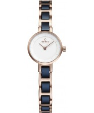Obaku V198LXVISL Ladies Two Tone Steel Bracelet Watch