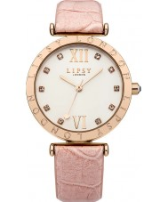 Lipsy LP312 Ladies Pink Leather Strap Watch