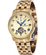 Thomas Earnshaw ES-8042-22 Mens Westminster Yellow Gold Plated Bracelet Watch