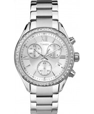 Timex TW2P66800 Ladies City Silver Steel Bracelet Watch