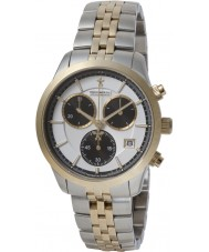 Dreyfuss and Co DGB00063-06 Mens 1953 Two Tone Chronograph Watch