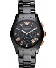 Emporio Armani AR1410 Mens Ceramic Black Chronograph Watch