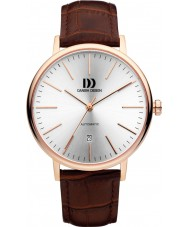 Danish Design Q18Q1074 Mens Brown Leather Strap Automatic Watch