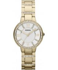Fossil ES3283 Ladies Virginia Gold Plated Bracelet Watch