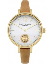 Daisy Dixon DD026EG Ladies Gracie Tan Leather Strap Watch