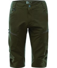 Dare2b DMJ337-3C4033 Mens Tuned In Three-quarter Camo Green Shorts - Size S-M (33in)