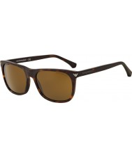 Emporio Armani EA4056 57 Essential Leisure Matte Havana 508973 Sunglasses