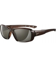 Cebe S-Kiss Shiny Brown Savannah Sunglasses