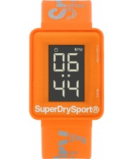 Superdry SYG204O Mens Sprint Digi Orange Silicone Strap Watch