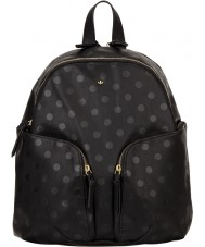Nica NH6196-BLACKDOT Ladies Tokyo Black Polka Backpack