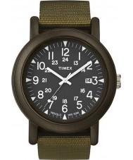 Timex Originals T2N363 Black Olive Camper Watch