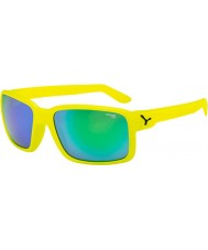 Cebe Dude Neon Yellow Green Sunglasses