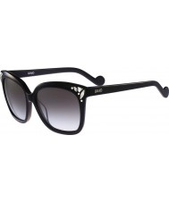 Liu Jo Ladies LJ632SR Diamond Black Sunglasses