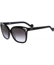 Liu Jo Ladies LJ632SR Diamond Black Sunglasses