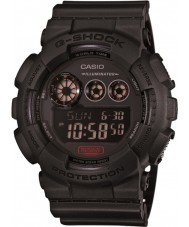 Casio GD-120MB-1ER Mens G-Shock Matt Black Resin Strap Watch